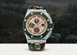 The attractive watches replica Audemars Piguet Royal Oak Offshore 26400SO.OO.A054CA.01 can make the wearers become the focus of the crowd.