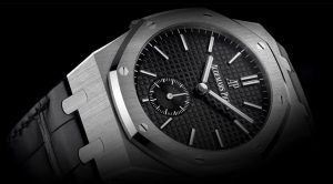 The sturdy copy Audemars Piguet Royal Oak 26591PT.OO.D002CR.01 watches are made from platinum.