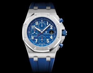 The sturdy fake Audemars Piguet Royal Oak Offshore 26470ST.OO.A030CA.01 watches are made from stainless steel.