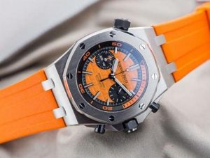 The water resistant fake Audemars Piguet Royal Oak Offshore 26703ST.OO.A070CA.01 watches are made from stainless steel.