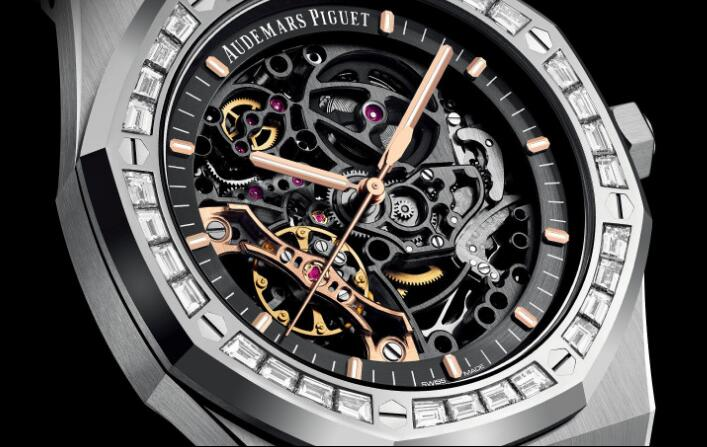The skeleton dial makes the watches look very futuristic and technological.