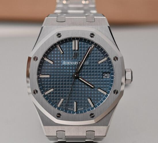 The timepiece has featured the iconic blue dial with the unique pattern.