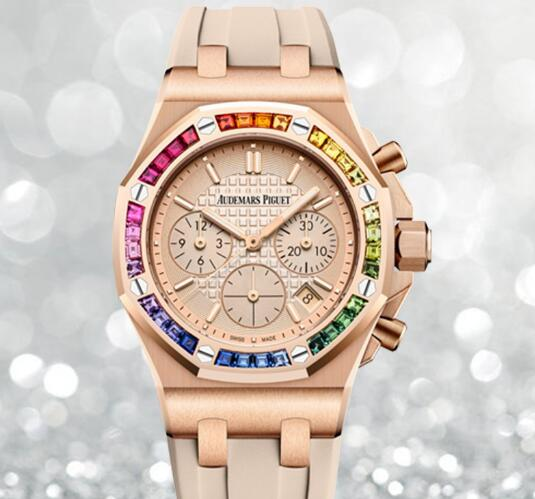 The 37 mm timepiece is a good choice for modern women.