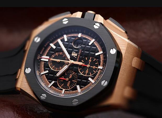Audemars Piguet Royal Oak Offshore looks bold and generous.