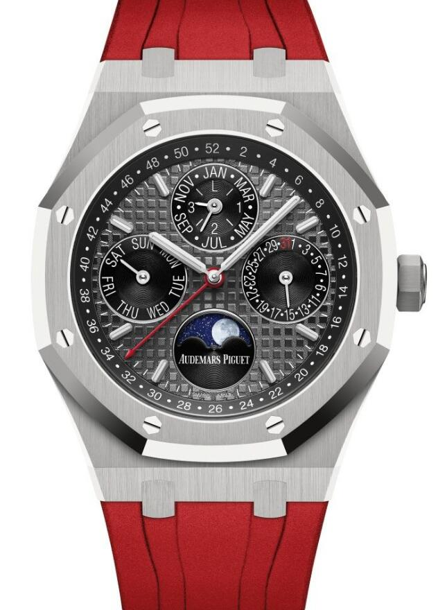 New reproduction watches sales are striking with red color.