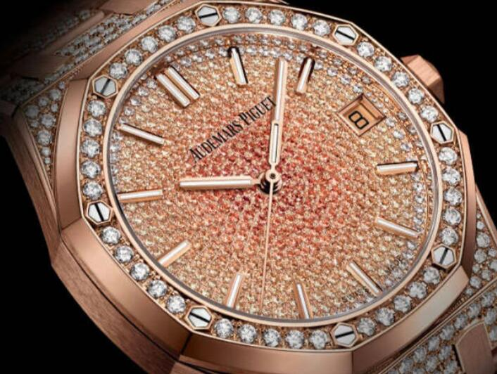 Swiss duplication watches are quite brilliant with diamonds.