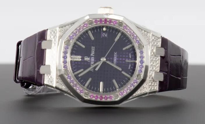 Online replica watches are mellow with purple color.