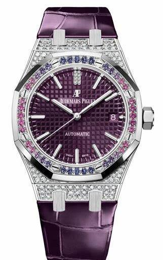 High class fake watches are brilliant with the sapphires and diamonds.