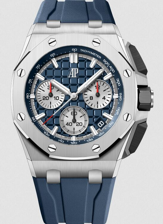 AAA fake watches look refreshing with blue color.