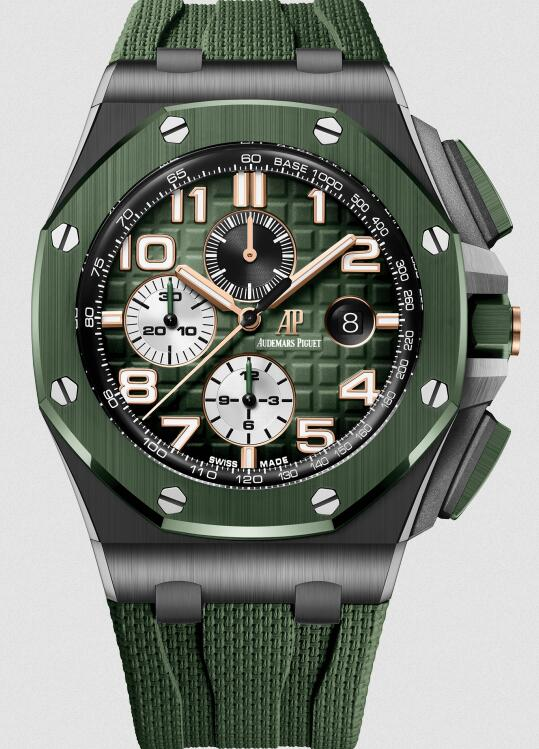 1:1 imitation watches are fashionable with green color.